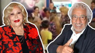"""A Silvia Pinal le cantaban su cumpleaños 87 y Rafael Inclán se emocionó tanto que ocurrió un """"milagro"""""""