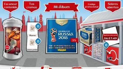 Arranca el álbum digital Panini Rusia 2018