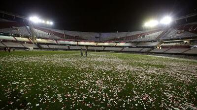 Aparece cadáver en el Estadio Monumental de River Plate