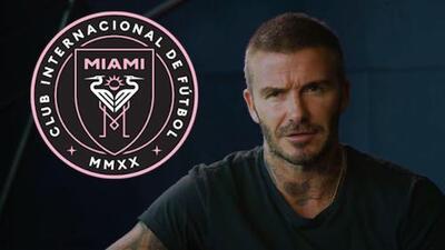 """David Beckham explica el motivo del logo de su equipo en Miami: """"Queríamos sabor sudamericano"""""""