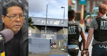 """""""Para mi nunca fue policía"""": Federales arrestan a agente estatal por robo de 54 armas de fuego de la comandancia de Guayama"""