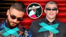 Ley propone prohibir la entrada de Bad Bunny y Maluma a México por las letras de sus canciones