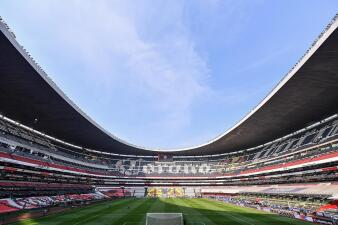 ¡Impecable! Así está la cancha del Estadio Azteca para la Final Cruz Azul - América