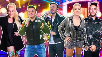 Las 7 estrellas internacionales que fascinaron sobre el escenario de Pequeños Gigantes 2019