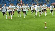 Alemania es el campeón más joven en la historia de la Copa Confederaciones