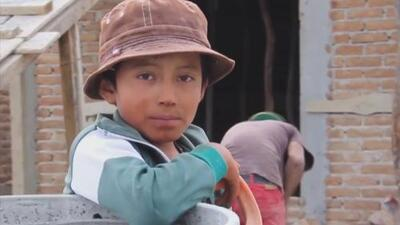 La conmovedora historia del niño albañil mexicano que anhela con llegar a ser un gran arquitecto
