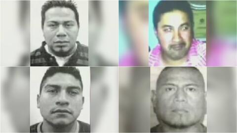 Familiares de unos obreros hispanos asesinados dan el último adiós a sus seres queridos