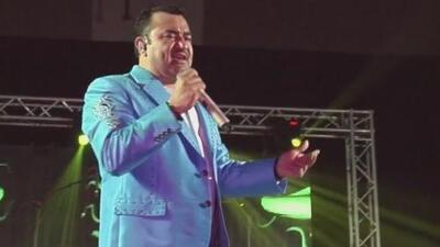 Las imágenes del aparatoso accidente que sufrió Tony Meléndez, vocalista del 'Conjunto Primavera', son aterradores