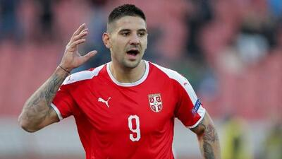Aleksandar Mitrovic se consagró como el artillero de la primera fase de la Nations League