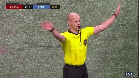 La tecnología del VAR le quita el segundo gol a Atlanta, tras gran remate de Darlington Nagbe
