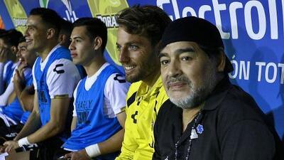 Maradona anunció que dejará Dorados al finalizar la temporada