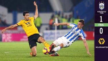Jiménez y Wolverhampton cayeron ante el sotanero de la Premier League
