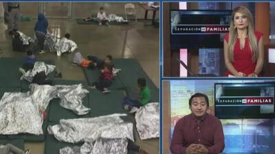 Activista habla sobre la realidad de los menores inmigrantes detenidos tras el anuncio del presidente Trump en contra de la separación de familias