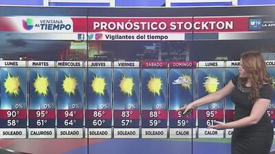 Se avecina una ola de calor en California