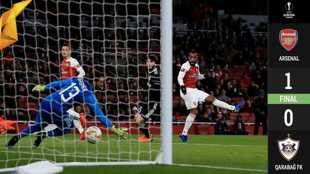 Misión cumplida: Arsenal venció al Qarabag y terminó como líder invicto del Grupo E