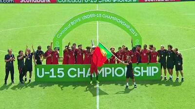 Portugal se coronó campeón del Concacaf Sub-15 al vencer 2-0 a Eslovenia
