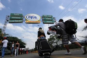 En fotos: La frontera que se convirtió en testigo del drama venezolano