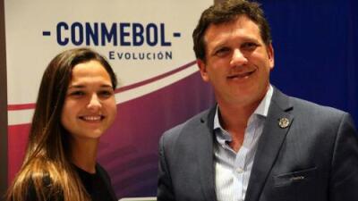 Deyna Castellanos fue elegida embajadora del fútbol sudamericano