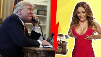 Donald Trump sacó corriendo del baño a La Bronca