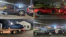 Confiscan varios vehículos en el área de Houston por carreras ilegales y otros delitos