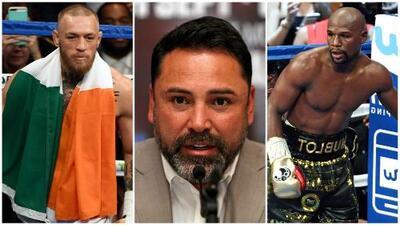 Oscar de la Hoya desenmascaró la farsa detrás de la pelea entre Mayweather y McGregor