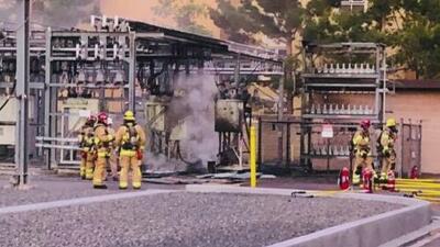 Incendio en la planta de una subestación eléctrica en Irvine provocó un apagón en el condado de Orange
