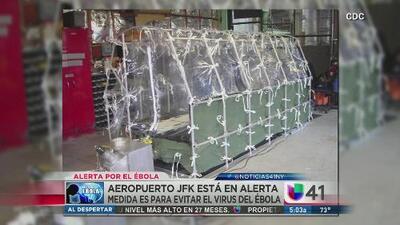 Alerta en aeropuerto JFK por virus del ébola