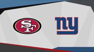 Previo del San Francisco 49ers vs New York Giants
