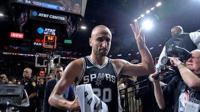 ¡Gracias, Manu! Todo lo que debes saber del retiro de la camiseta de Ginóbili con los Spurs