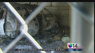 Incendio en San José desplaza a varias familias