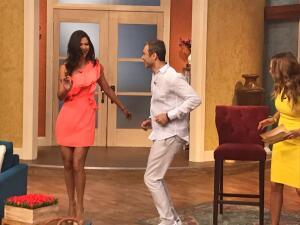 En fotos: Ana Patricia le dio la bienvenida al protagonista de 'José de Egipto' a ritmo de samba