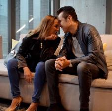 ¡Consuelo Duval y Andrián Uribe derrochan amor, pero como amigos!