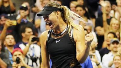 """Sharapova, tras su regreso a un Grand Slam: """"Parecía que no tendría el derecho de ganar"""""""