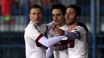 El AC Milan no pudo imponerse en la cancha del Empoli y se va con empate 2-2