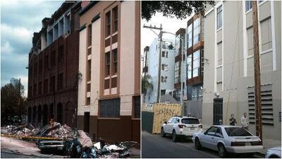 Fotografías interactivas: el antes y después del devastador terremoto de Loma Prieta en California