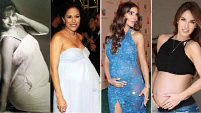 Así se veían Giselle Blondet y otras famosas embarazadas