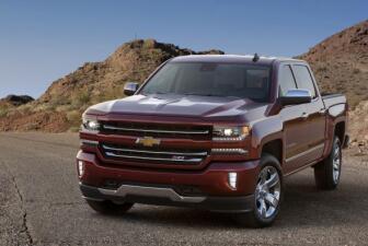 Imágenes del Chevrolet Silverado 2016
