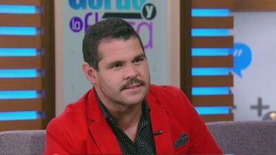 El actor Marco de la O relató lo complicado que fue interpretar a 'El Chapo' Guzmán