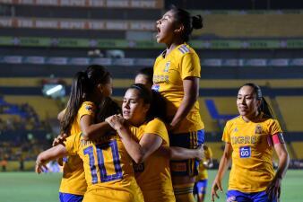 En fotos: Tigres supera con claridad a América en la Ida de Semifinales de la Liga MX Femenil