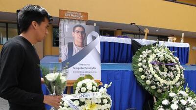 Hallan el cuerpo de Norberto Ronquillo, el universitario secuestrado al salir de clases en Ciudad de México