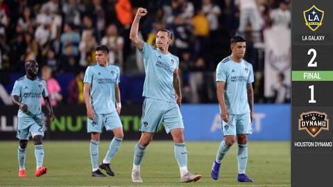¡Rumbo a la cima! Zlatan y Polenta dan victoria al LA Galaxy tras quitar invicto al Dynamo