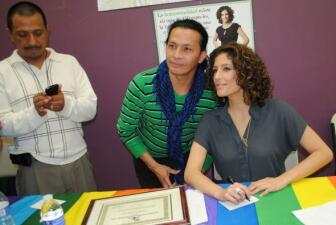 Daniela Ganoza lucha contra la homofobia