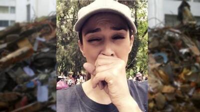 "Jacky Bracamontes suplica en México por ""comida para bebé, pañales y toallitas"""
