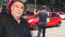 Entre palabras altisonantes, el actor Jesús Ochoa respondió luego de ser captado pidiendo dinero en la calle