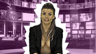 Por qué hay mujeres que dan las noticias casi desnudas