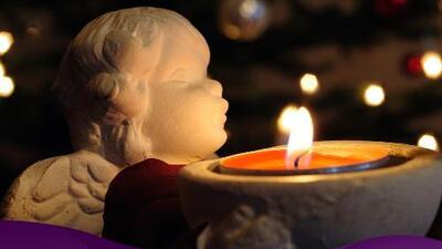 La vela ideal para comunicarte con los arcángeles