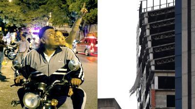 La 'Torre de David', el emblemático rascacielos inconcluso que resultó afectado por el terremoto en Venezuela (fotos)