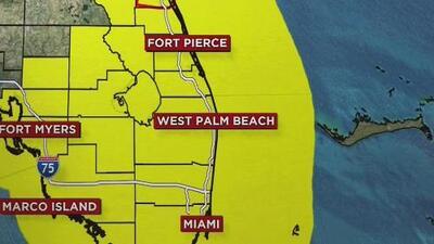 Todo el sur de Florida bajo alerta de tornado provocados por el huracán Irma