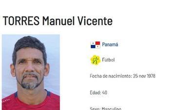 Manuel Torres, el refuerzo de 40 años de Panamá