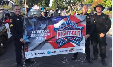 En fotos: así se vivió la 'National Night Out', un evento que busca unir a la comunidad tras una semana de tiroteos